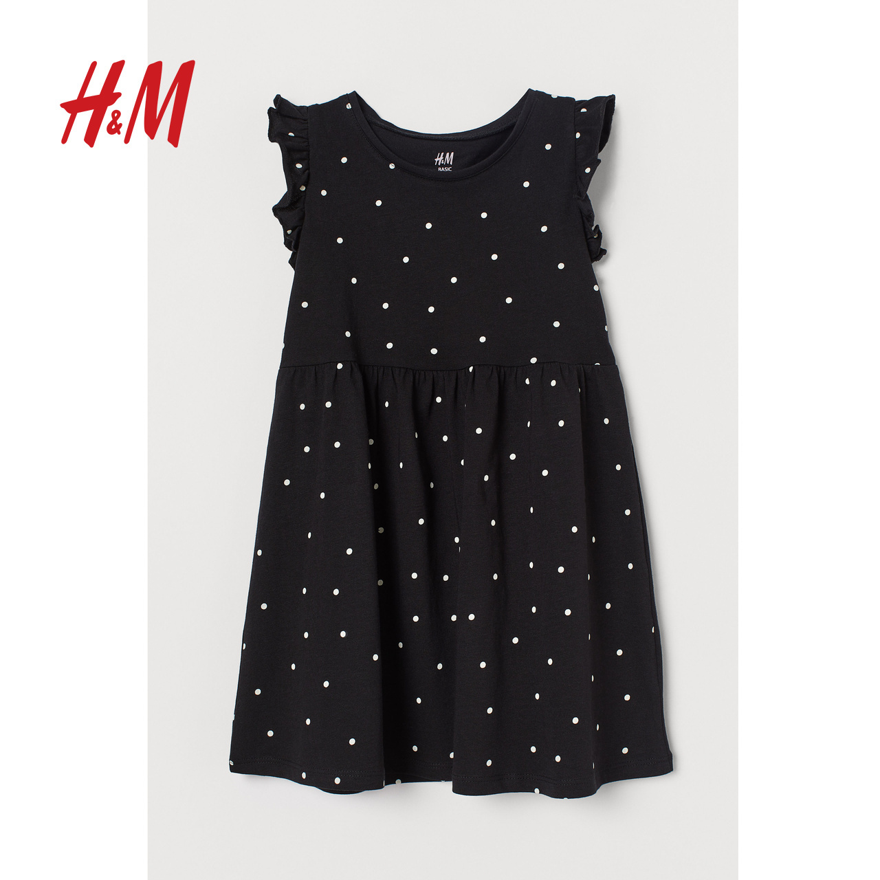 HM children's dress girl's dress spring dress 2020 women's new lovely pure cotton Childrens dress 0620197