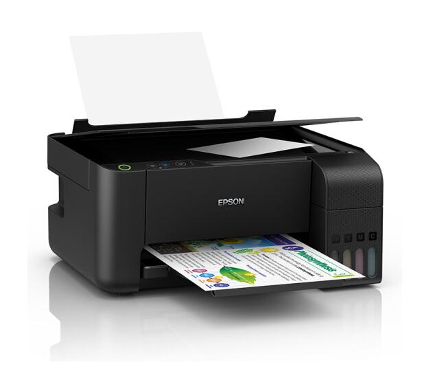 Epson l3119 ink bin type printing, copying and scanning multi function continuous supply all in one machine