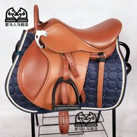 矮马综合鞍儿童双肚带马鞍子马术教练鞍 全套促销包邮