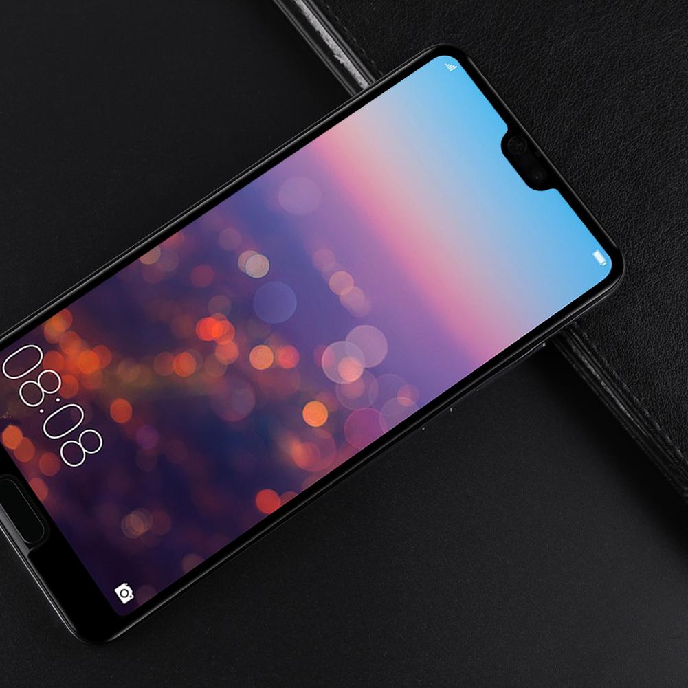 耐尔金 华为P20钢化膜P20 PRO全屏幕覆盖防爆玻璃手机保护贴膜
