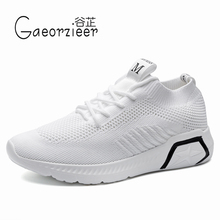 2009 Summer Sports Shoe Woman Uzzang Thick Bottom Ins Running Dance Shoes Korean Version Baitai Breathable Small White Shoes Woman