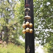 民族挂件创意招财古铜风铃铛家居卧室仿古屋檐吊垂风铃小礼品