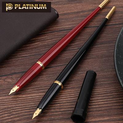 包邮日本白金Platinum钢笔DP-1000AN极细钢笔速写手绘练字0.38mm财务细字F尖钢笔学生商务复古台笔用细尖钢笔