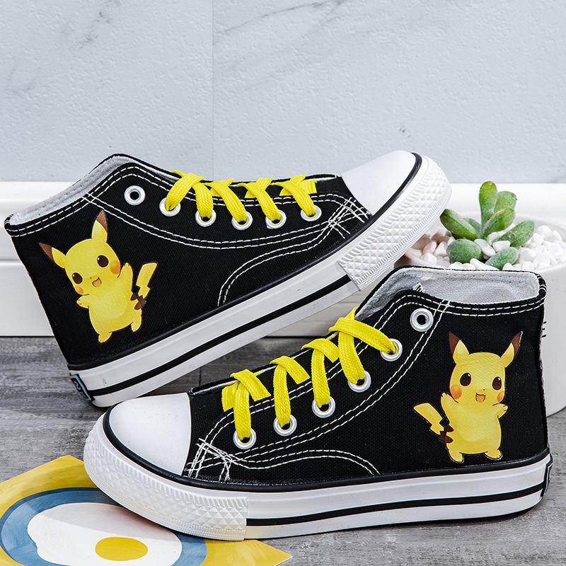 Canvas shoes big kids high top low top popular print super fashion trend flat bottom new girls Shoes Boys Board Shoes