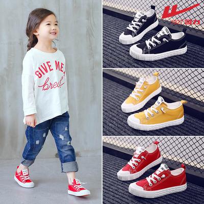 回力 春季新款男女儿童帆布鞋