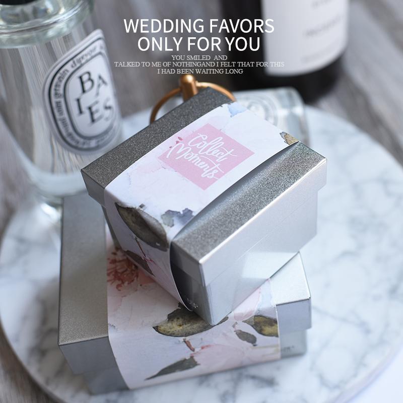 7.10元包邮铁盒结婚礼品创意糖盒糖果包装盒