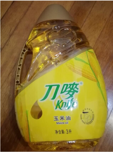 Knife mark corn oil 3L new and old packaging random sale (limited delivery, consultation before purchase)