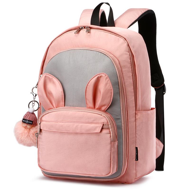 韩版可爱小学生书包三到六年级女童双肩包超轻便大容量儿童书包五