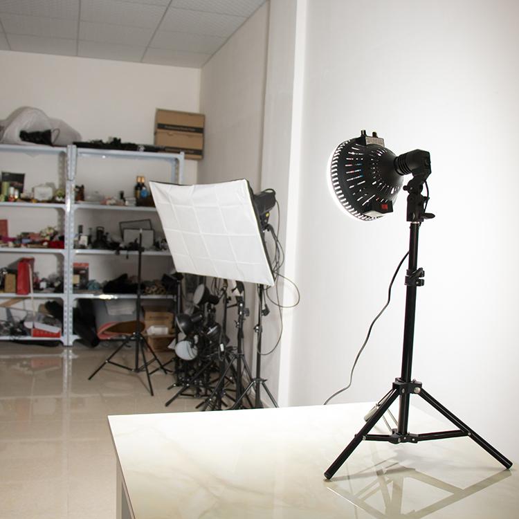 100W太阳灯视频拍摄补光灯高功率人像服装拍照摄影棚灯常亮打光灯