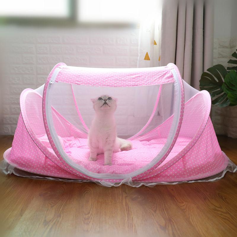 猫咪窝猫帐篷封闭式产房可拆洗宠物用品小猫狗狗帐篷夏天网红猫窝