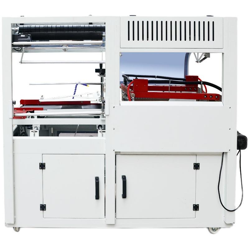 450全自动L型封切收缩机 外包装盒塑料封膜机 大纸箱塑封机快速
