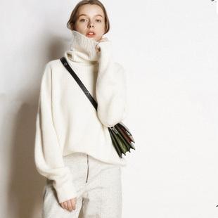 【断码清仓】贴身不扎【7天退换】毛衣女圆领套头韩版针织打底衫