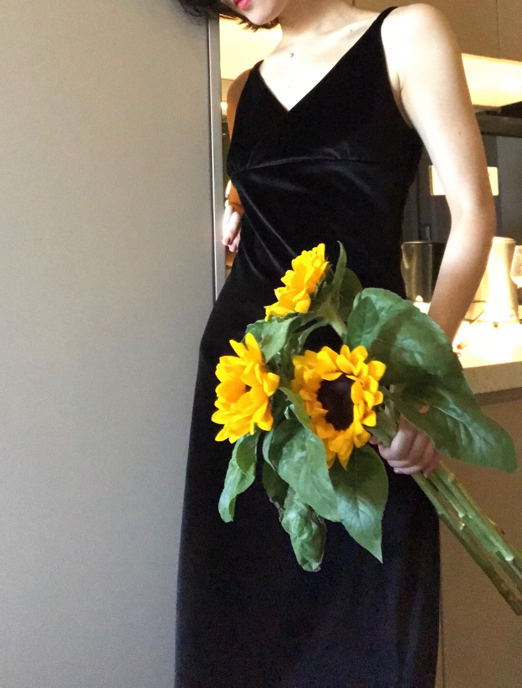 WangHanYan ручной работы осенью новый бархат строп элегантный V шея длинная модель трещина платье тонкий