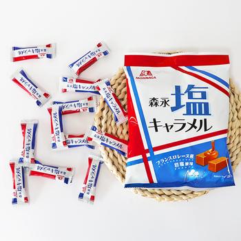日本进口森永岩海盐糖奶糖特浓焦糖太妃牛奶糖果零食婚礼喜糖软糖