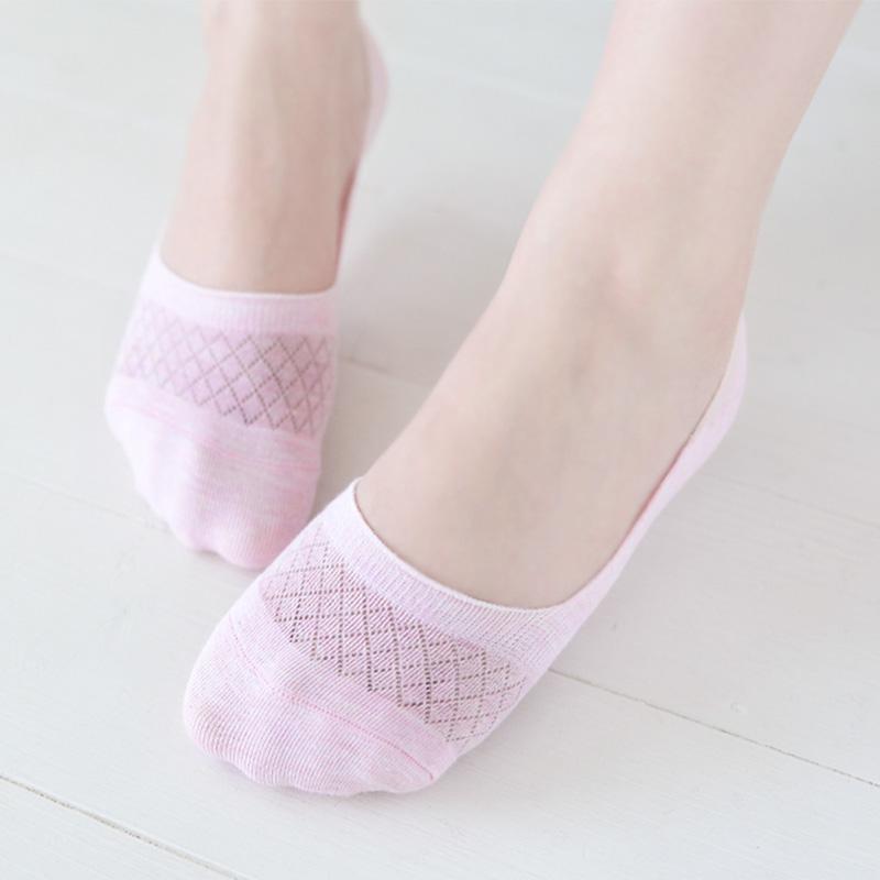船袜女夏纯棉短袜浅口隐形袜硅胶防滑夏天袜子女夏季全棉薄款女袜