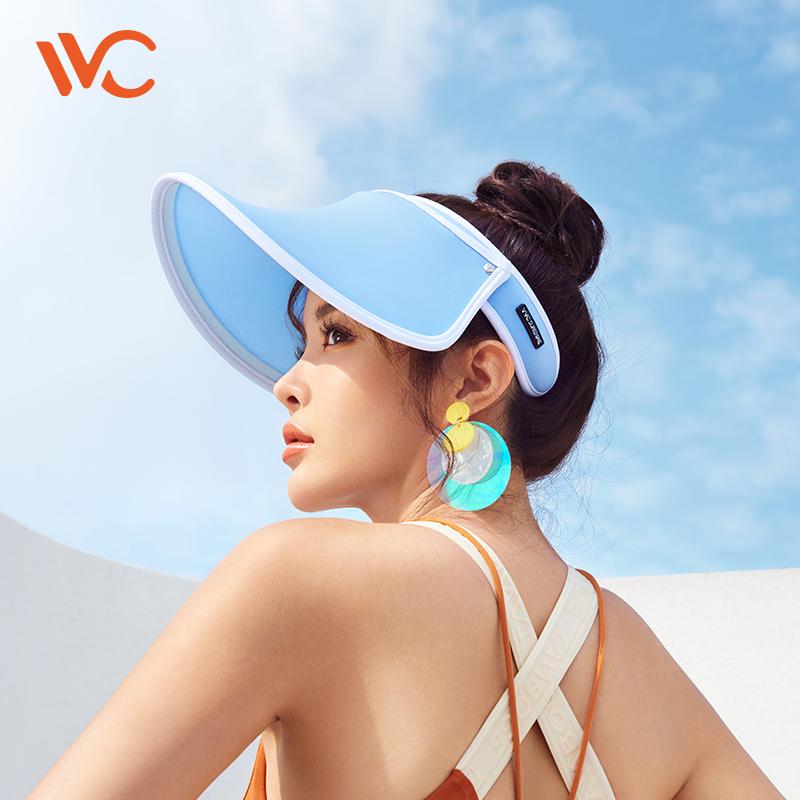 韩国vvc防晒遮阳帽女夏季专属款帽防紫外线出游百搭太阳帽子