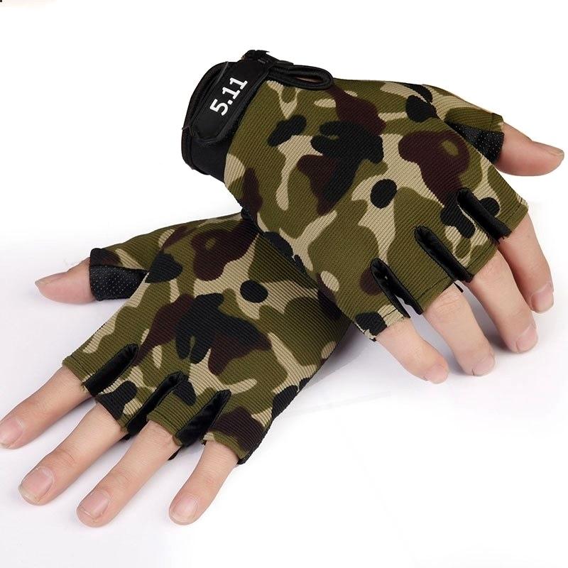 Neville riding black half thin elastic gloves mens Half Finger mens and womens summer equipment five finger handsome