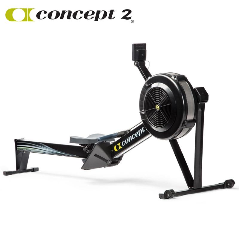 美国Concept2风阻划船机 C2划船器D型纸牌屋家用健身器赛艇测功仪