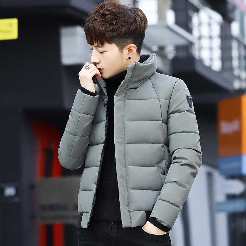 男士棉衣冬季2018新款韩版潮流立领棉袄冬装外套加厚短款羽绒棉服