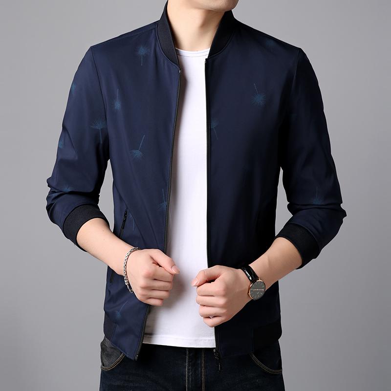 男士夹克2019春秋新款韩版潮流青年帅气休闲外套男棒球领男装外衣