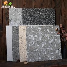 800×800カラーテラゾーはバーレストランアンティークタイル600×600リビングルームの寝室の床のタイルをタイル
