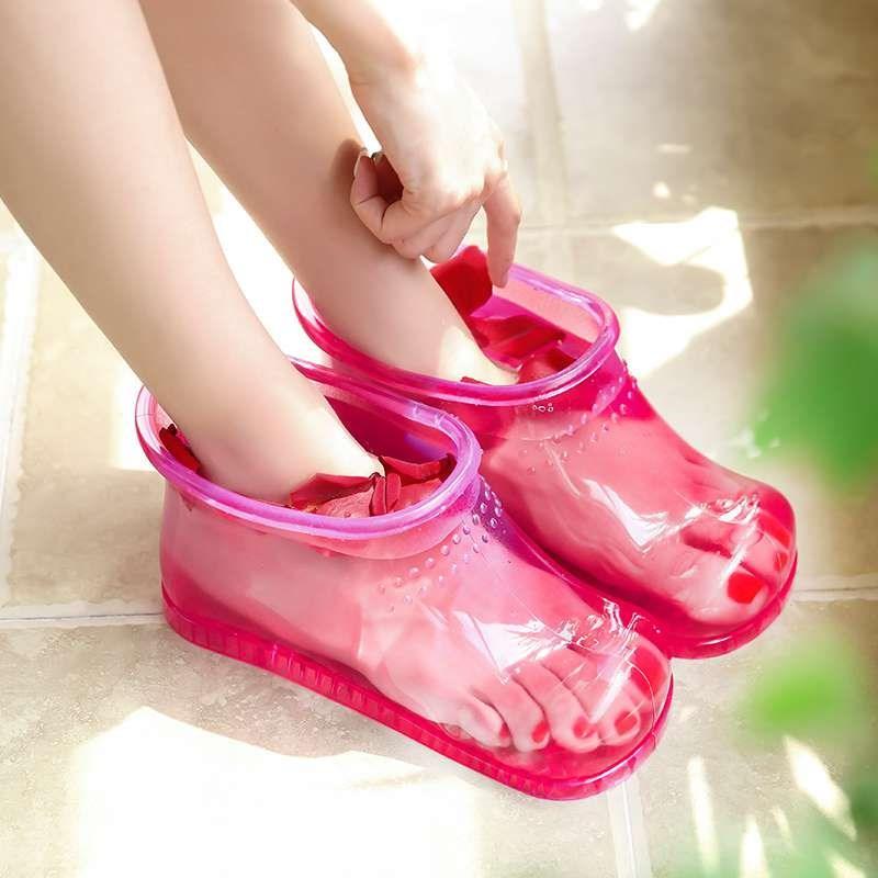 倍喜多泡脚桶木桶足浴盆足浴桶洗脚家用塑料木盆脚盆足浴鞋泡脚鞋