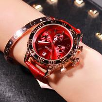 时尚潮流大表盘古风手表中国风森系女时装古欧正品女土手表防水
