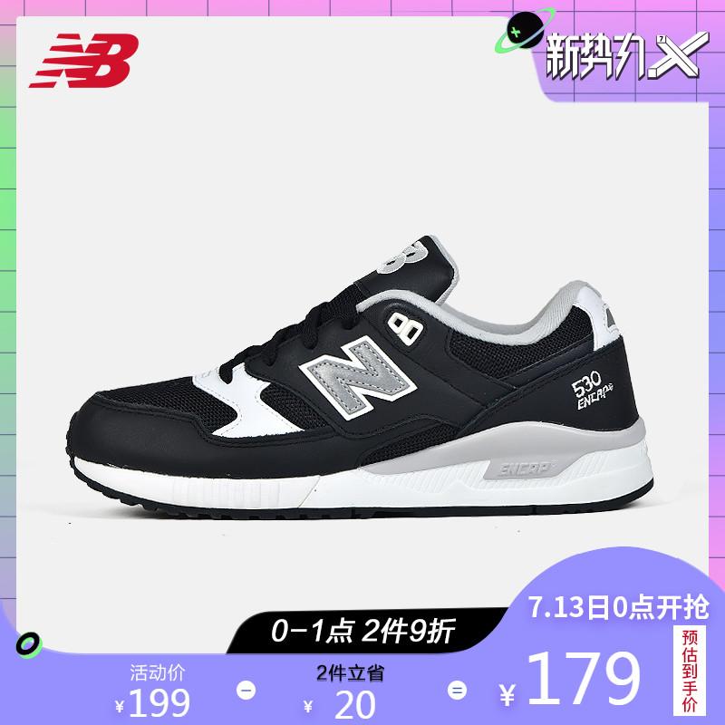 New Balance NB官方530系列男鞋复古鞋休闲运动跑步鞋M530LGB/LGA