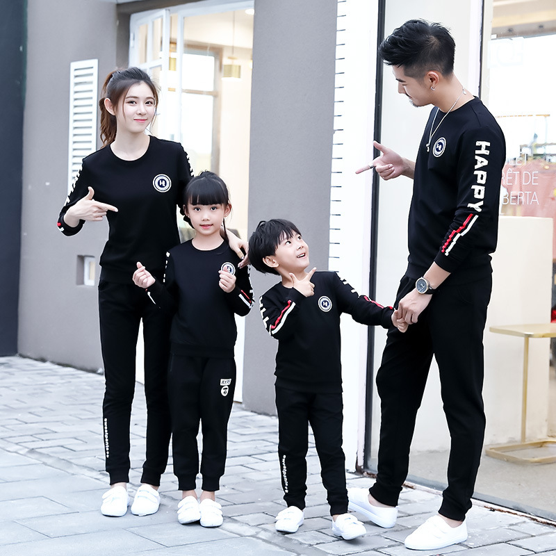 Chaopai parent-child clothes autumn and winter girls long sleeve top