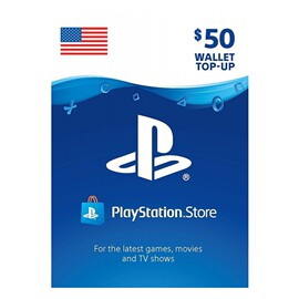 PlayStation Store wallet top-up 50USD 美服PSN充值卡50美刀PS4图片
