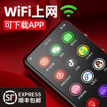 安卓智能wifimp4可上网能联网mp3全面屏mp6随身听学生版迷你小巧高清超薄触摸mp5蓝牙游戏p5音乐播放器p4