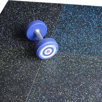 健身房地墊減震墊室內防震環保橡膠地磚力量區拼接隔音家用地膠墊
