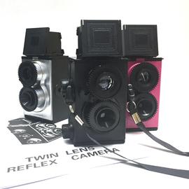 禮盒成品大人科學雙反復古相機收藏照相機135膠卷禮物送鏡頭蓋圖片