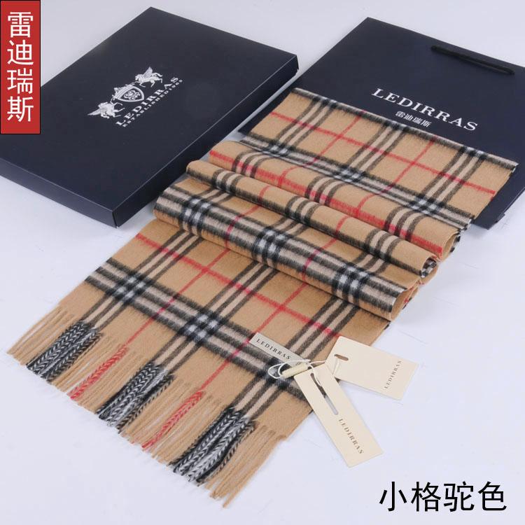 Осень/зима сезона толстые молодых мужчин и женщин шарфы шарф англии плед шарф платок коробка подарка