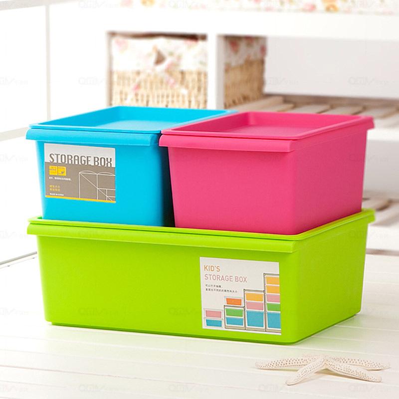 特大号收纳箱衣物玩具衣服整理箱塑料储物箱子加厚有盖家用储物柜12.80元包邮