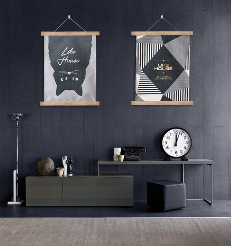 Нордический мрамор зерна картины декоративный живопись вертикальное исполнение вешать одеяло фреска гостиная вход магазин фон стена ткань вешать ткань