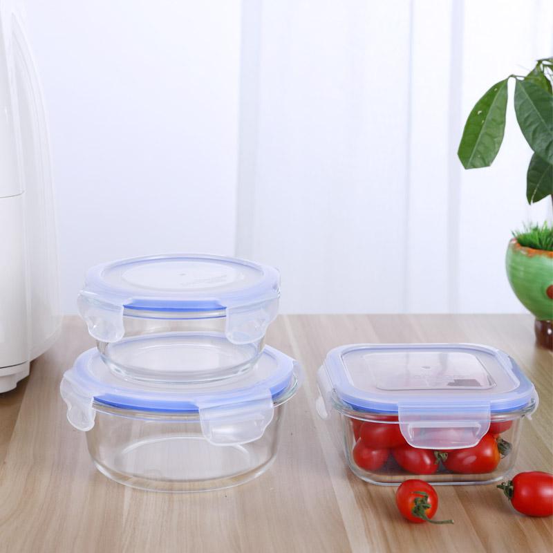 【亏本出】康宁冰箱保鲜盒微波炉加热饭盒 6件套送礼彩盒包装