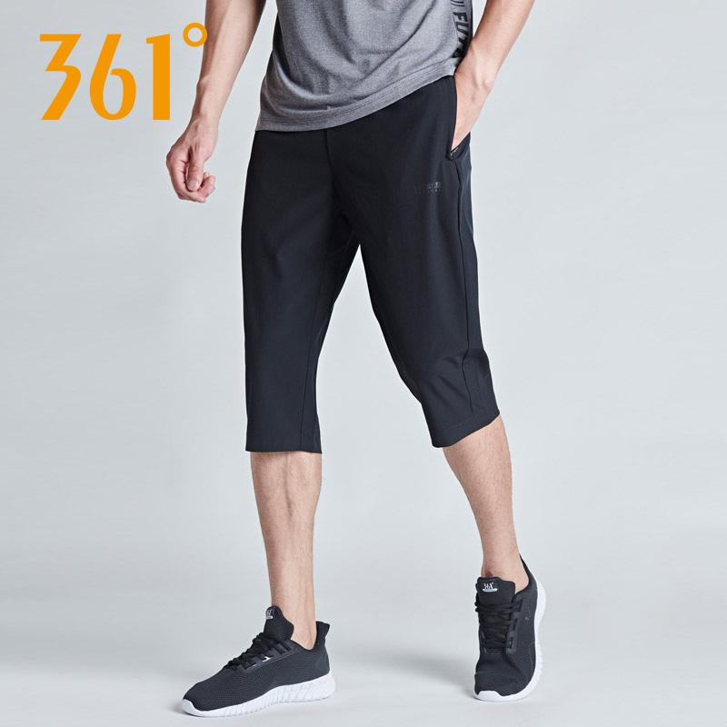 361夏季七分裤男士跑步裤运动裤