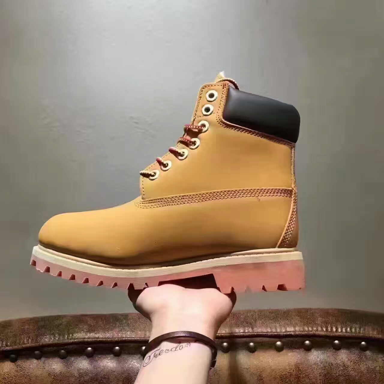 Осень и зима день на открытом воздухе обувь casual ботинок 10061 удар неплохо ревень ботинок высокий натуральная кожа восхождение обувной европа и америка филиал отношения