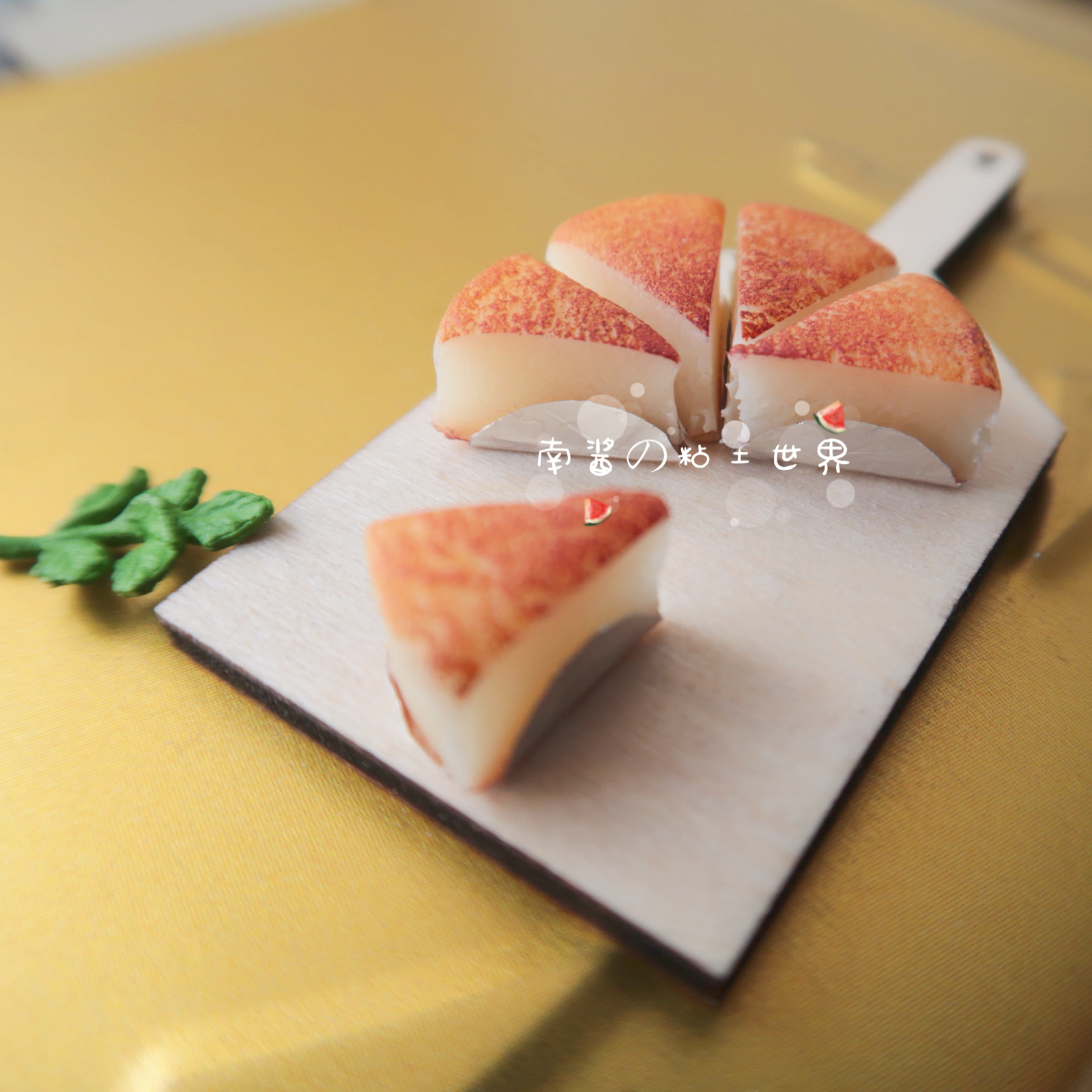 Miniature food and play manual puff ob11 mini furniture scene 12 points 6 points doll house accessories BJD