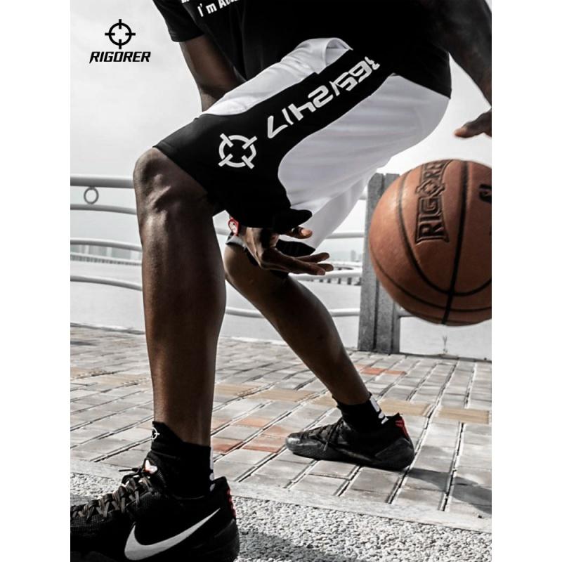 篮球裤运动裤宽松透气裤子训练服五分裤潮中裤休闲速干短裤男