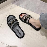 夏天外穿2021年新款韩版平底凉拖鞋质量怎么样