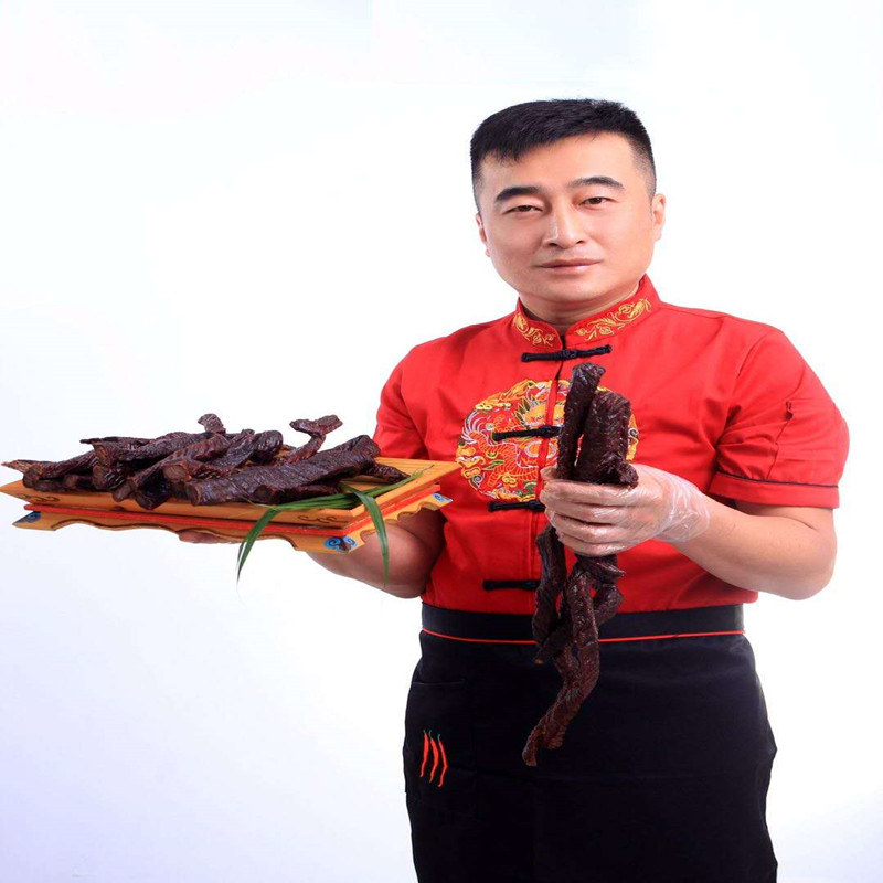 Xilinguole authentic beef jerky 500g sugar free bulk 80% dry carbon roast package mail Inner Mongolia grassland specialty