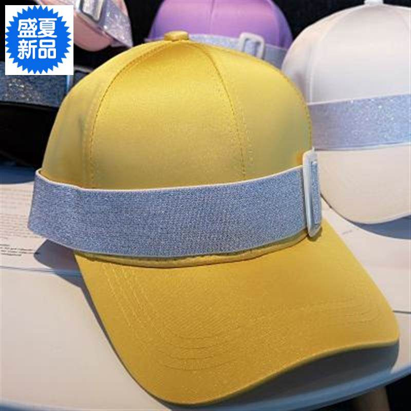 Top grade duck tongue with 2019 net red spring Korean belt buckle shangtoushi street style womens hat trend