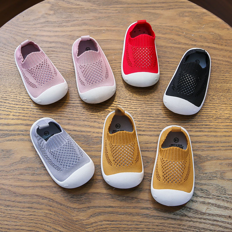 Hanni bear spring and autumn new baby walking shoes baby soft soled indoor shoes for boys and girls children children 1-3 years old single 2