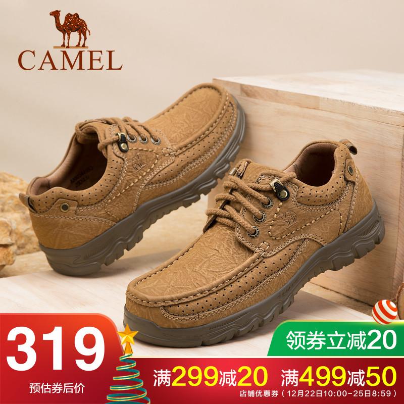 骆驼户外鞋休闲
