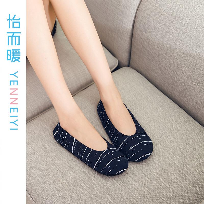 成人纯棉地板袜女夏季透气室内袜居家袜早教防滑袜套防滑硅胶鞋袜图片