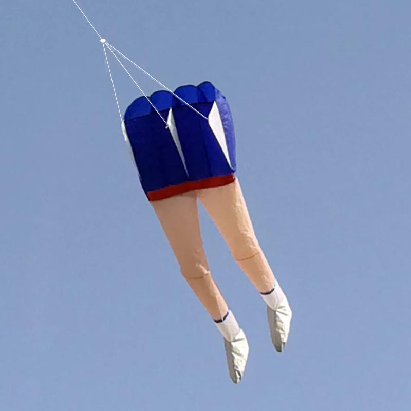 软体风筝立体3D可充气风筝新款大长腿单线软体可折叠风筝送线包邮