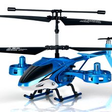 Hook hand alloy remote control aircraft fall resistant unmanned helicopter rechargeable aircraft aircraft boy children's toys