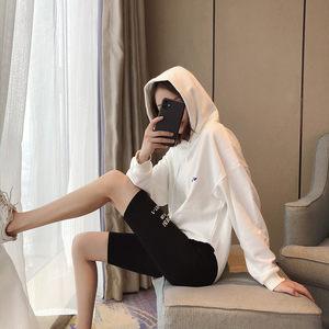 2020夏季纯棉五分打底短裤女外穿薄款高腰弹力紧身瑜伽中裤骑行裤